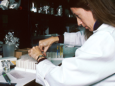 wikimedia technician performing laboratory test national cancer institute pd s